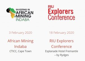 Expedio at Indaba and RIU